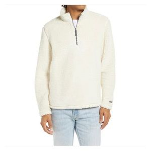 New Chubbies The Fresh Powder half zip pullover M
